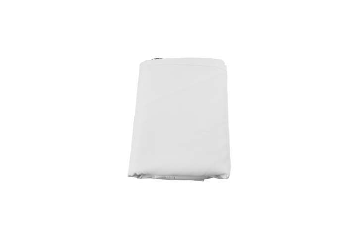 The Cartman Waterproof Sun Shade Sail Canopy (\10 by \10 feet) in white polyester that blocks up to 95 percent of harmful UV rays and 99 percent of rainwater. It&#8\2\17;s one of the more budget-friendly options we&#8\2\17;ve found at \$\13.99 on Amazon.