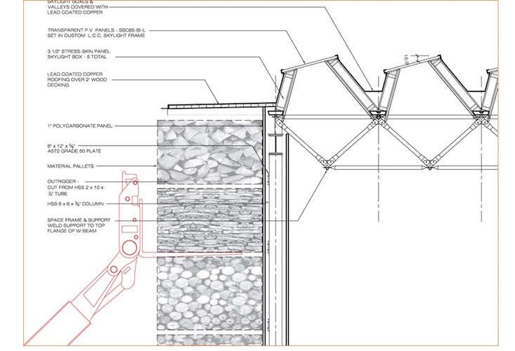 Gray Organschi designed this modern storage barn
