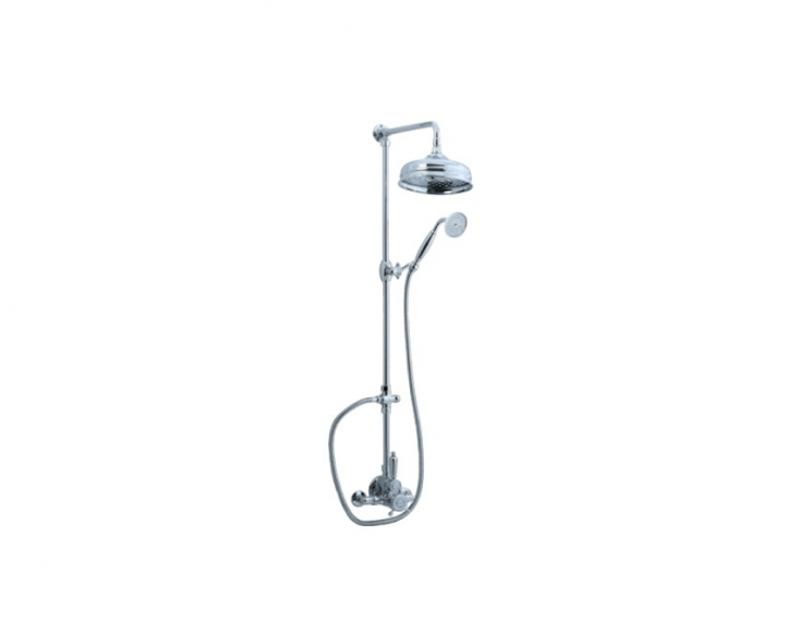 ACifial Exposed Thermostatic Shower Kit comes with an 8-inch shower head; \$\1,754 from Discount Designer Faucets.