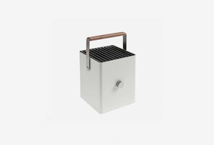 The City Boy Picnic Grill from Lumi (\$\2\29) is stylish as well as practical and available at the Finnish Design Shop.