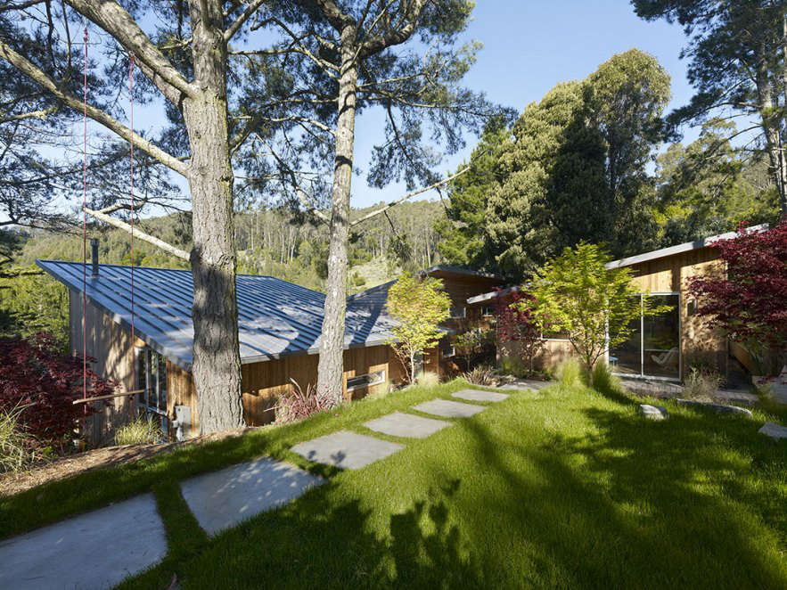 YamaMar designed this home in Mill Valley
