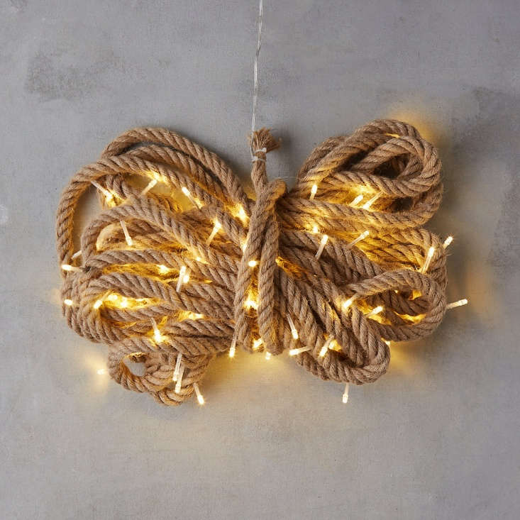 A 33-foot lighted length of Stargazer Rope Lights is \$88 from Terrain.
