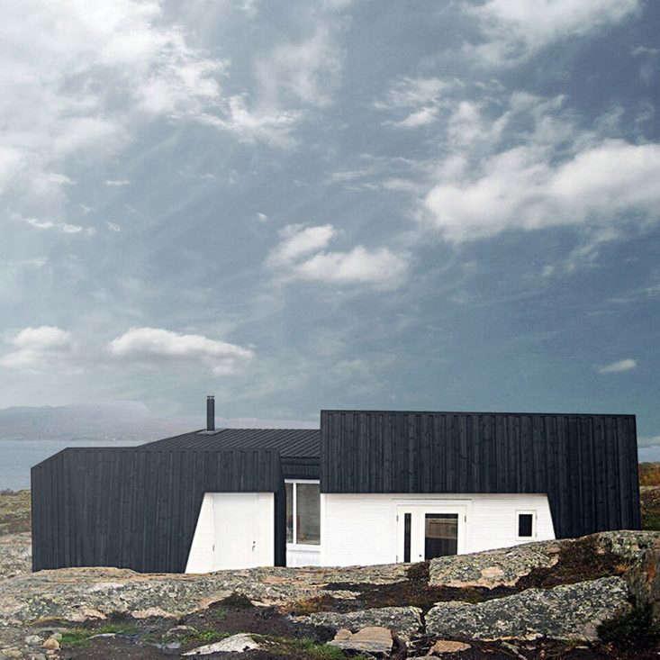 Vardehausen Architects designed this retreat near Fosen