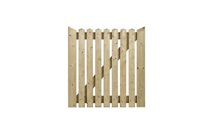 Made in Britain of kiln-dried softwood pressure treated for durability, a traditional Cottage Wooden Side Gate is available from stock in three widths (from 36 to 48 inches). For more information and pricing, see Charltons Timber Store.