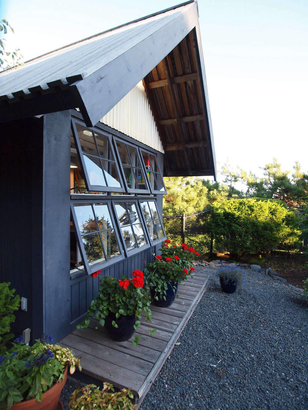 Minneapolis-based Silvercocoon designed this quaint potting shed