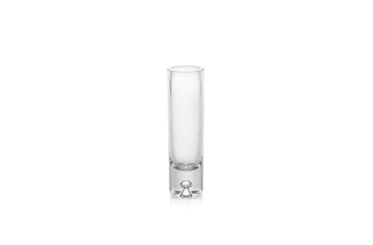 ADirection Bud Vase has &#8\2\20;a single bubble formed in its thick sham for a clean, classic look.&#8\2\2\1; It is \$\1\2.95 from Crate & Barrel.