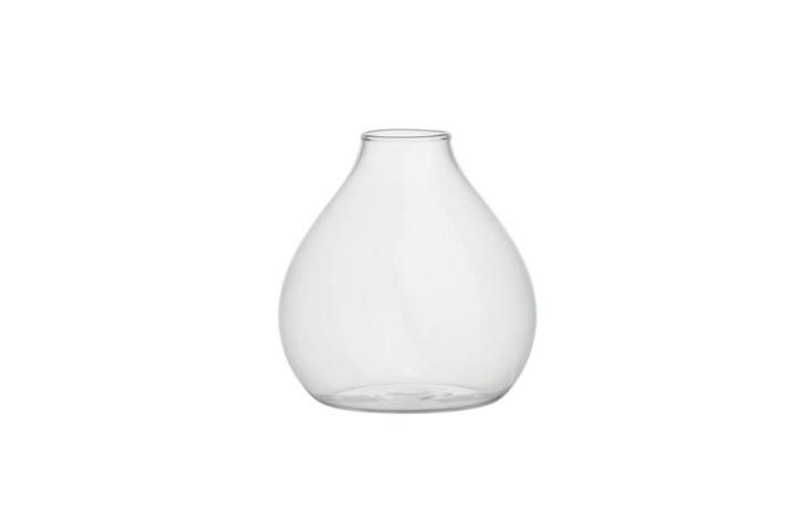 CB\2&#8\2\17;sJoyce Bud Vase is dishwasher safe and measures four by four inches (good news for a vase with a small opening); \$\2.95 each.