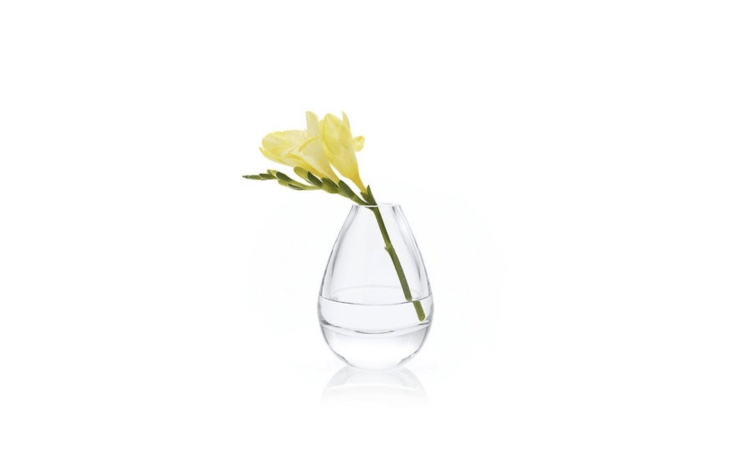 A Teeny Large Bud Vase is \$\1\2.95 from Crate & Barrel.