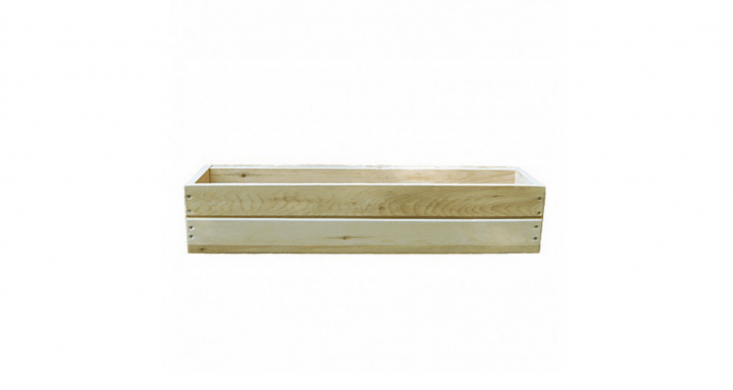 Natural Cedar Window Boxes are available in three lengths, from  to 48 inches; $35 to $65 at Jamali Garden. (Note: The -inch size is currently out of stock.)