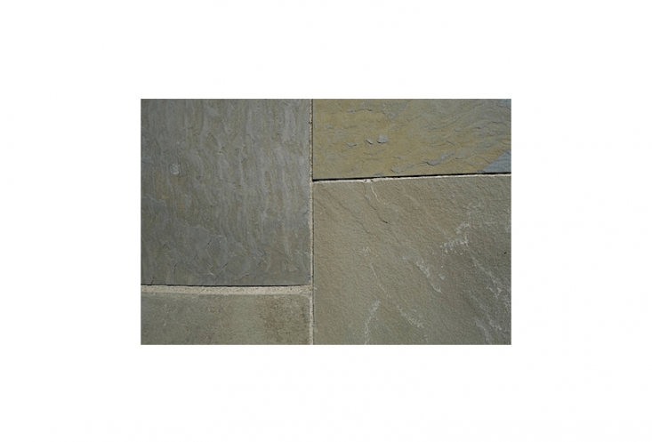 With natural cleft bluestone pavers, &#8