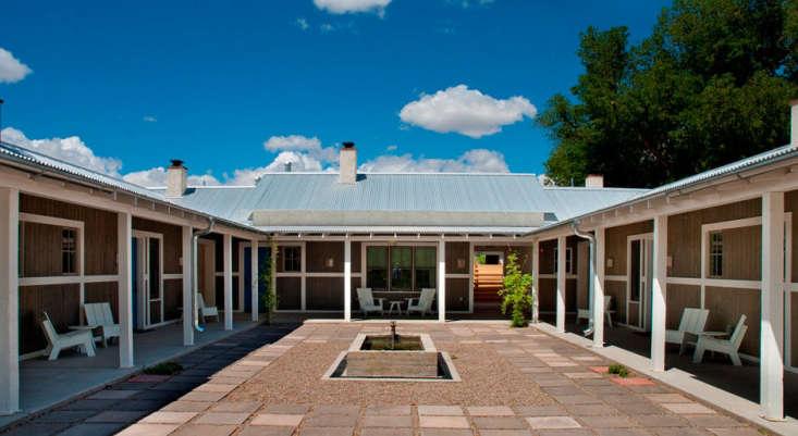 Los Poblanos Inn courtyard farm suites