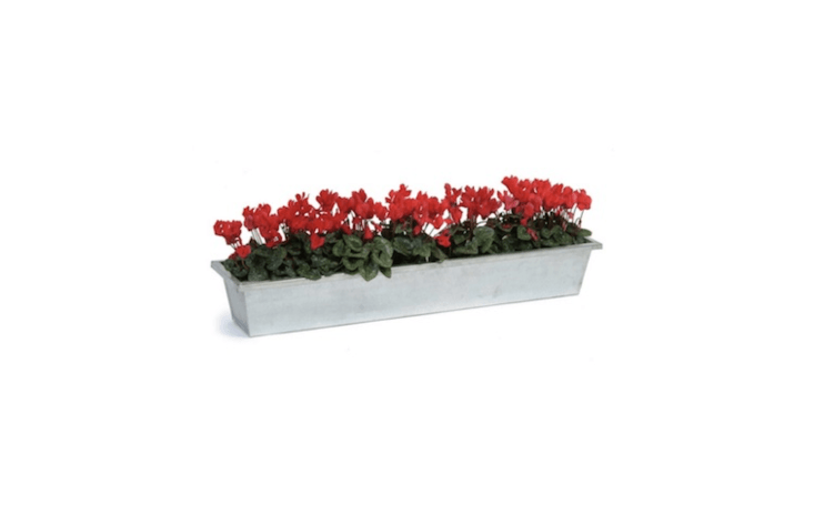 A shallow Galvanised Steel Planter Trough also is good to grow &#8\2\20;ice and drinks at parties,&#8\2\2\1; notes retailer Garden Trading. It measures nearly 3\1.5 inches long and about 6.7 inches deep (at this depth, we suggest using it as a container for potted plants) and is£\24.