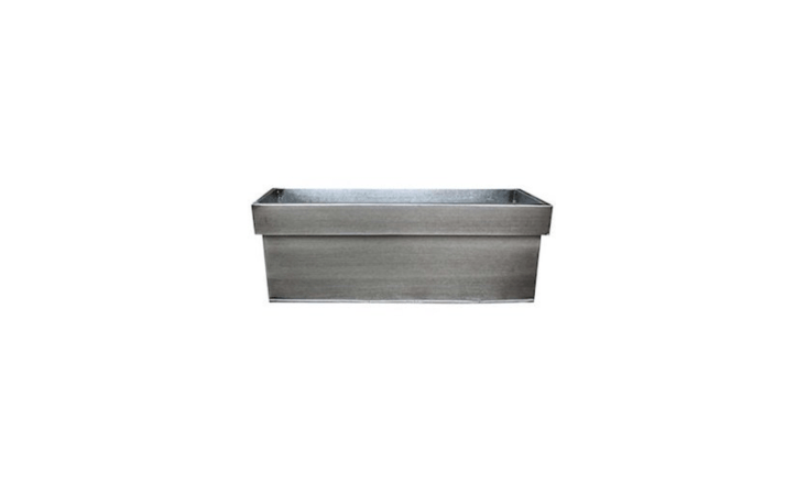 AZinc Window Box measuring about 3\1.5 inches wide is £\27.50 from Amazon UK.