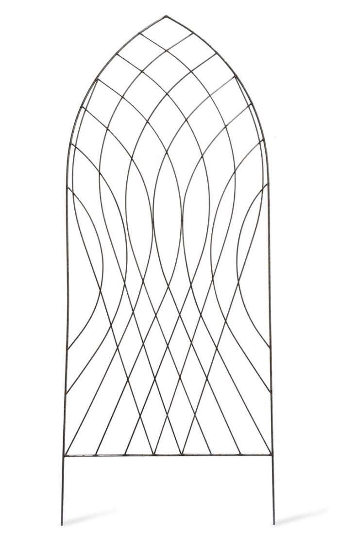 metal-gothic-arch-trellis-gardenista