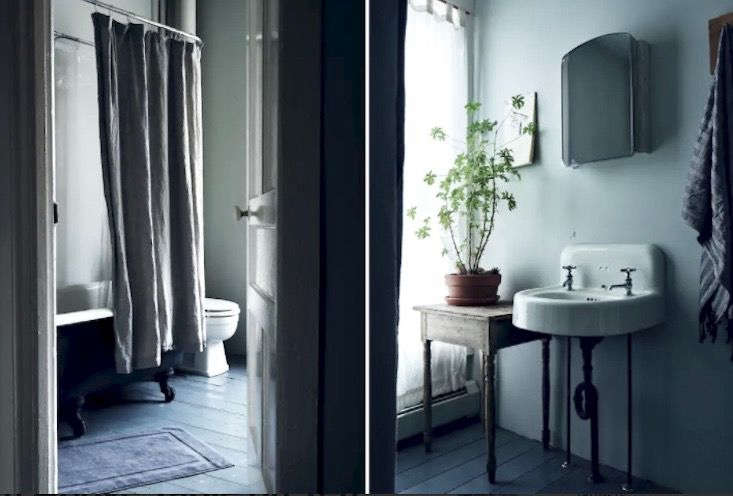 Airbnb Table on Ten bathroom