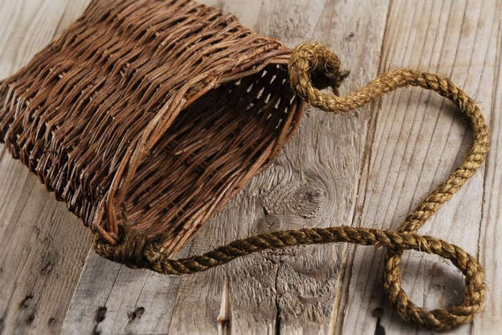 A Wicker Basket with Rope Handle is \$8 at Save on Crafts.