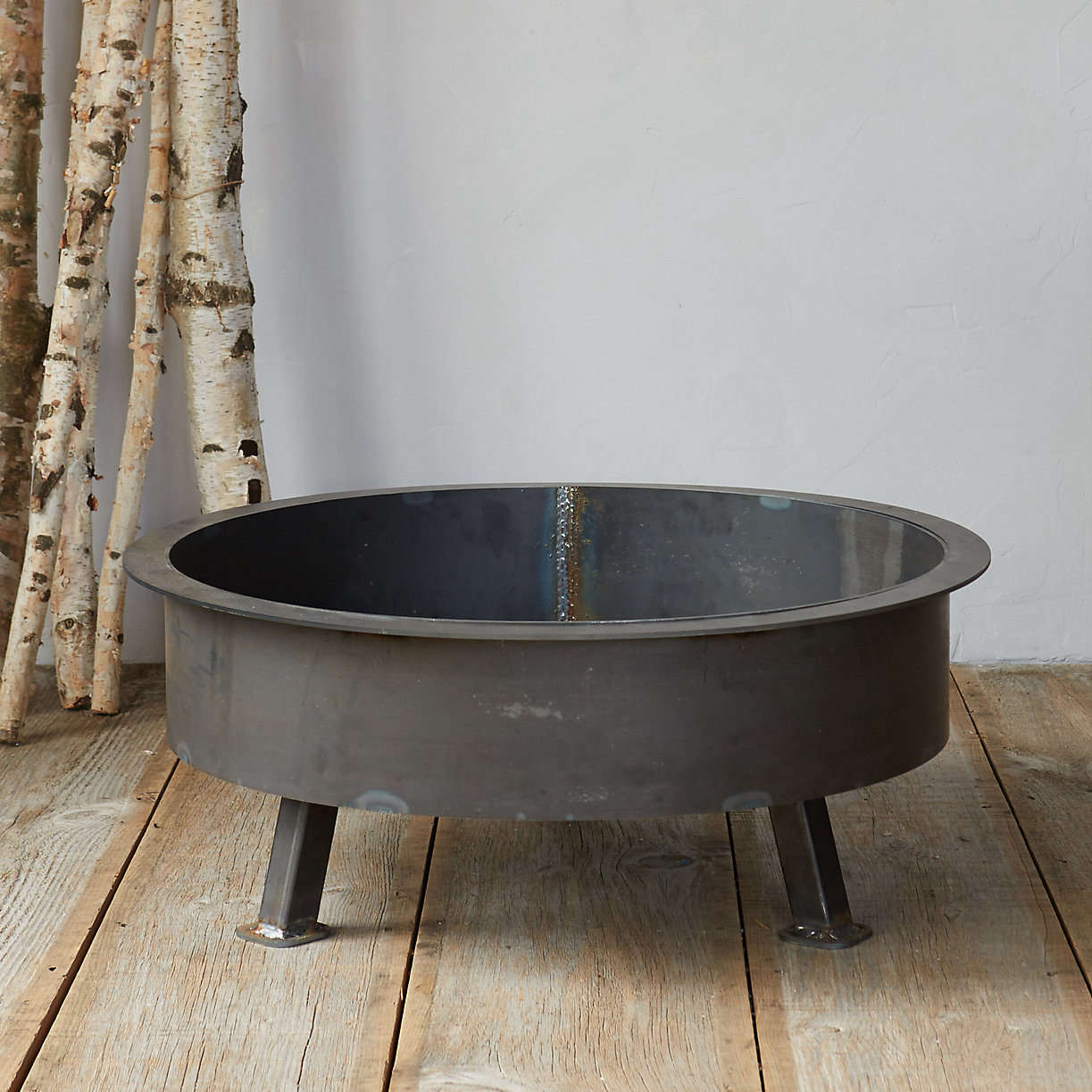 The Insignia Fire Pit measures 3src=