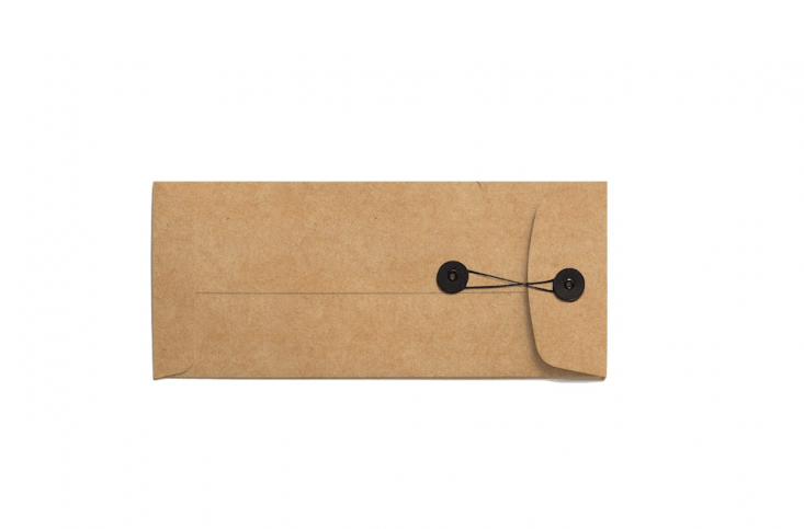 For larger quantities (or bigger seeds), a set of \25 4.\1-by-9.5-inch Kraft String Tie And Button Enclosure Envelopes is \$\29 from Anticipate via Etsy.