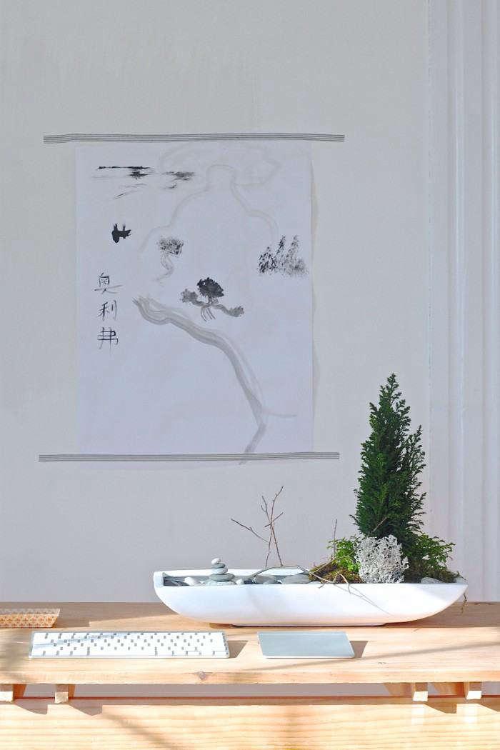 For more, see DIY: Desktop Zen Garden. Photograph by Justine Hand.