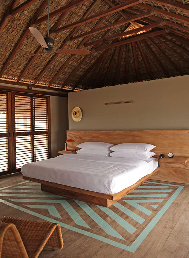 hotel-escondido-painted-floor-bedroom
