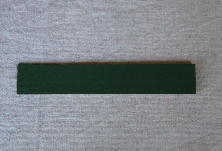 Olympic Solid Stain inForest is a rich Irish green.
