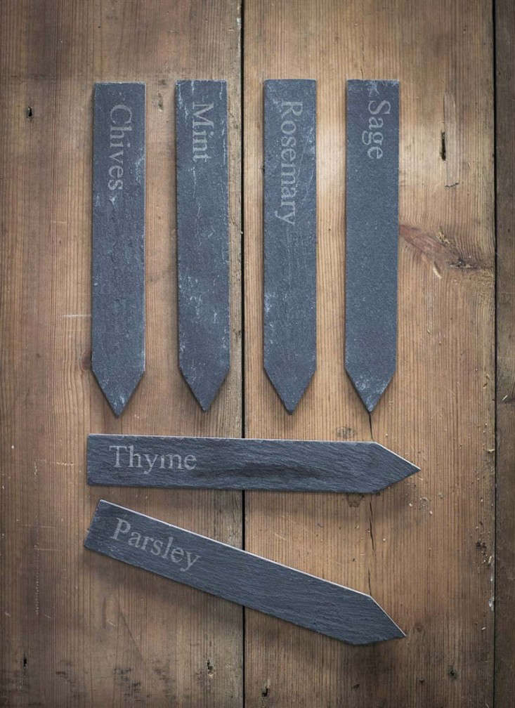 Set-of-6-Herb-Markers-Slate-gardenista