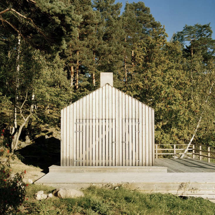 Sauna designed by General Architecture, photo by Mikael Olsson