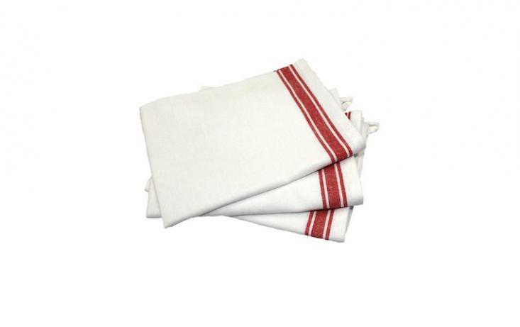 dish towels red stripe amazon
