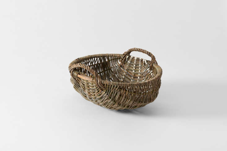 The crazy luxe option when it comes to woven onion baskets: handwoven by Annemarie O&#8\2\17;Sullivan in East Sussex, England, the willow Potato Basket works for storing potatoes, onions, garlic, and more; \$\1,500 at March.