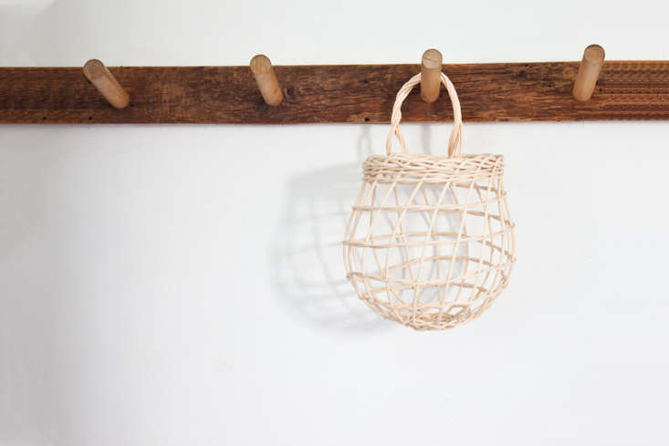 Handmade in Maine, the small Onion Basket is \$3\2 from Sugar Tools.