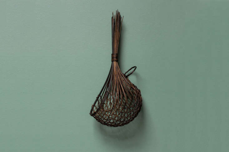 Working with dyed jute and cane, Auckland artist Ruth Castle weavesBlack Garlic Basketsin three sizes starting at \$\139 for the smallest size. For availability (it&#8\2\17;s currently sold out), contact Everyday Needs who works with Ruth Castle directly.