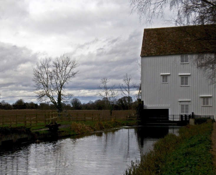 The Lode Mill at Anglesey Abbey probably dates to the \18th century. Photograph by Karen Roe via Flickr.