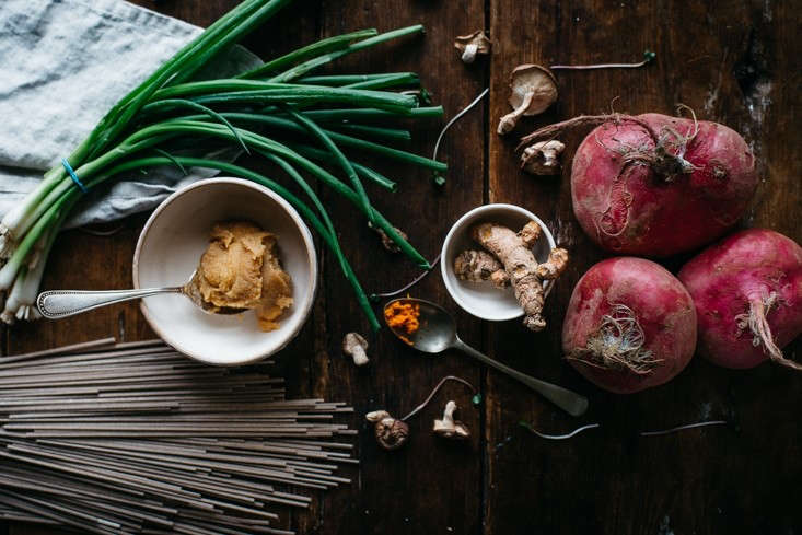 Photograph by Lindsey Love. For more, see Delicious Detox: A -Minute Turmeric-Miso Soup.