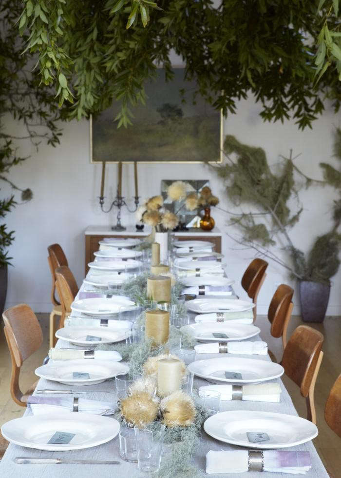 We&#8\2\17;re reminiscing about this dinner party we threw a few years back, with botanical ideas to steal for New Year&#8\2\17;s parties and midwinter celebrations of all kinds. Photograph byAya Brackettfor Remodelista; see more inA Seasonal Celebration, Creatives Included.