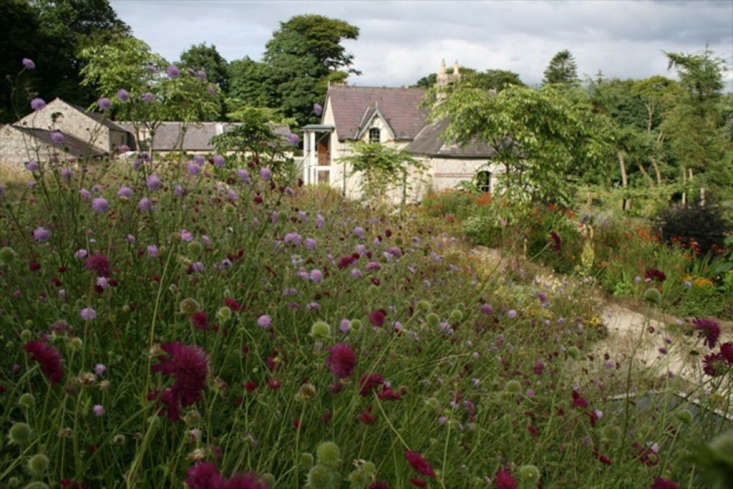 The view from the garden to the Cow House.