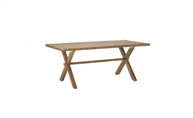 Made of eucalyptus from Vietnam, a Croft Collection Islay 6-Seater Dining Table is £5\19 from John Lewis.