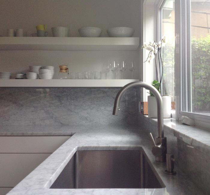 Izabella chose this faucet from Grohe over a fancy faucet that cost a $loading=