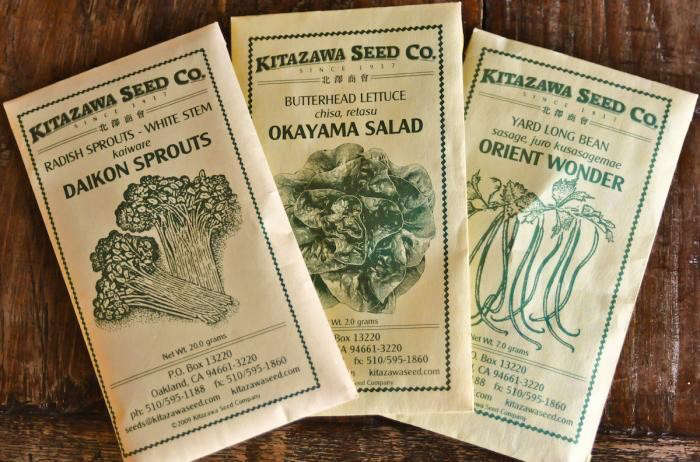 Offering more than \2\25 varieties, Kitazawa is the oldest seed company in the US specializing in Asian vegetables. For more, see Seed Source: Kitazawa Seed Co.