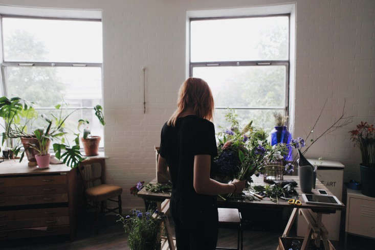 Emma Weaver, creative director and owner of Palais Flowers in London