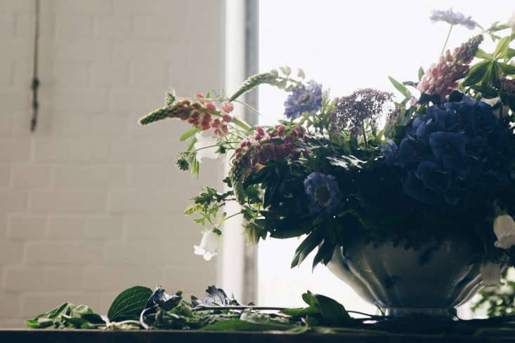 A design by Emma Weaver, owner and creative director or Palais Flowers in London