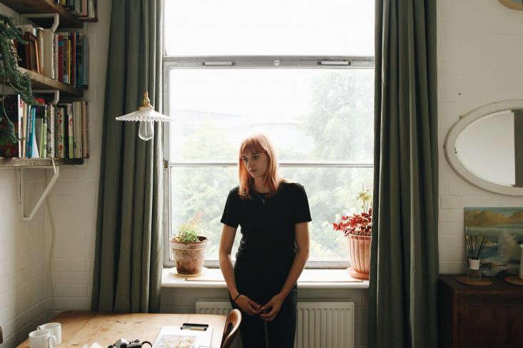 Emma Weaver designed her studio herself