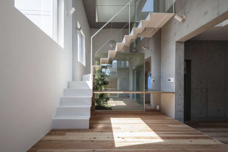 Tokyo's K2YT Architects created this Indoor Garden House for 2 families with five interior garden rooms