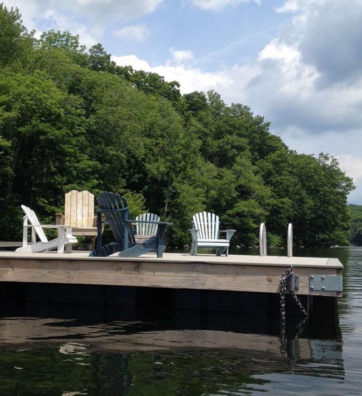 adirondack-chairs-dock-lake-gardenista