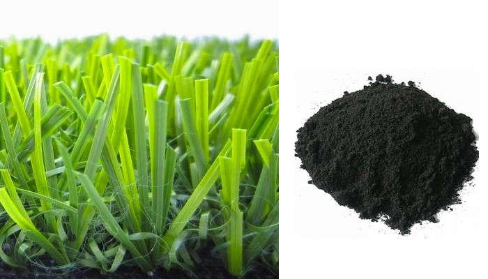 artificial grass rubber crumb