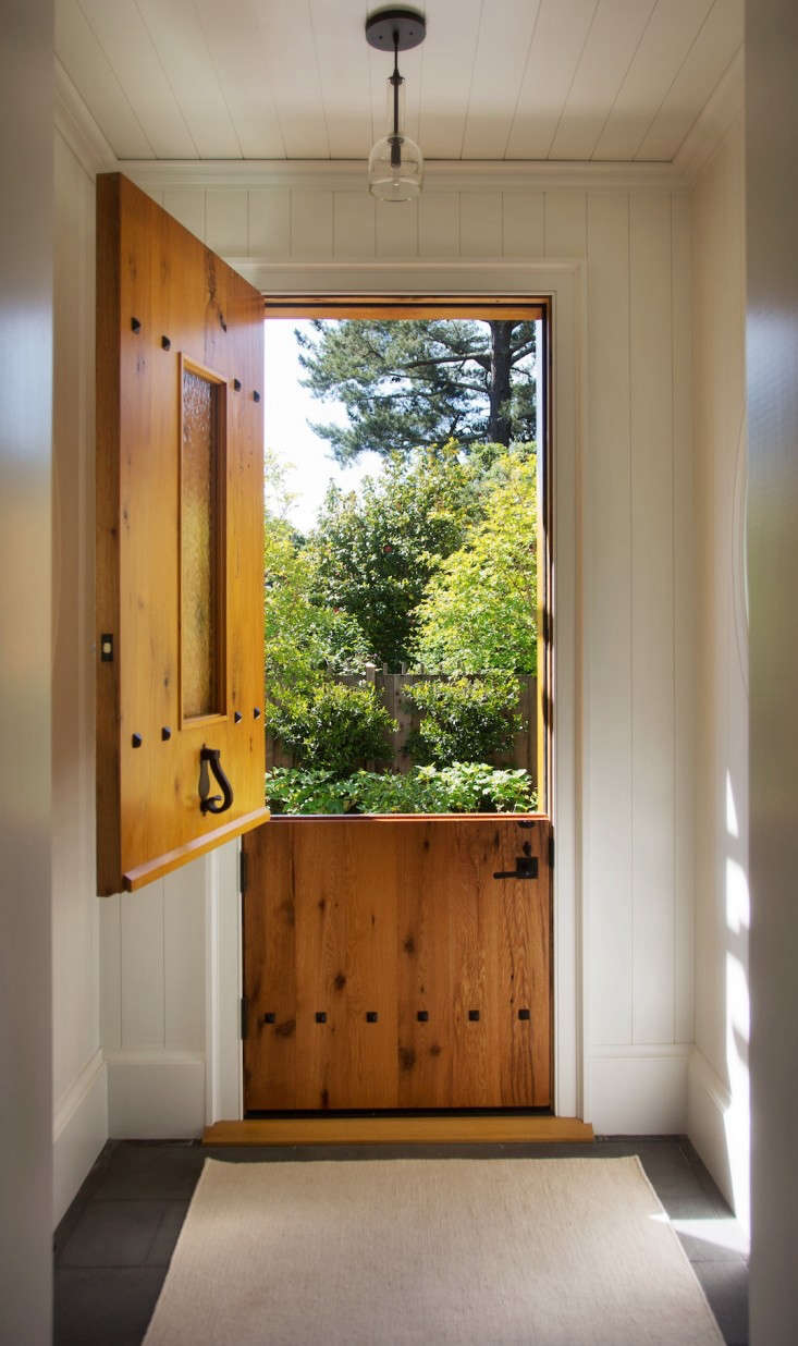 Architect Barbara Chambers has a dutch door at her home in Mill Valley, California. Photograph by Liesa Johannssen for Gardenista.