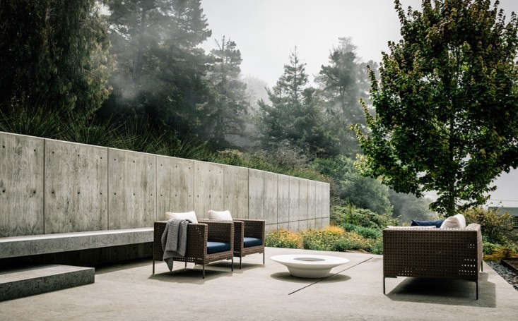 See more of this garden at Architect Visit: The Medieval Mist and Mystery of Big Sur. Photograph by Joe Fletcher, courtesy of Fougeron Architecture.