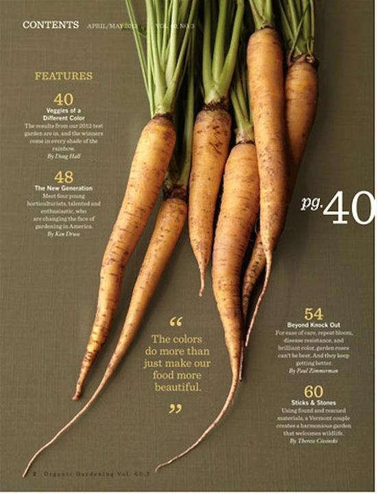 carrots-in-gardening-app