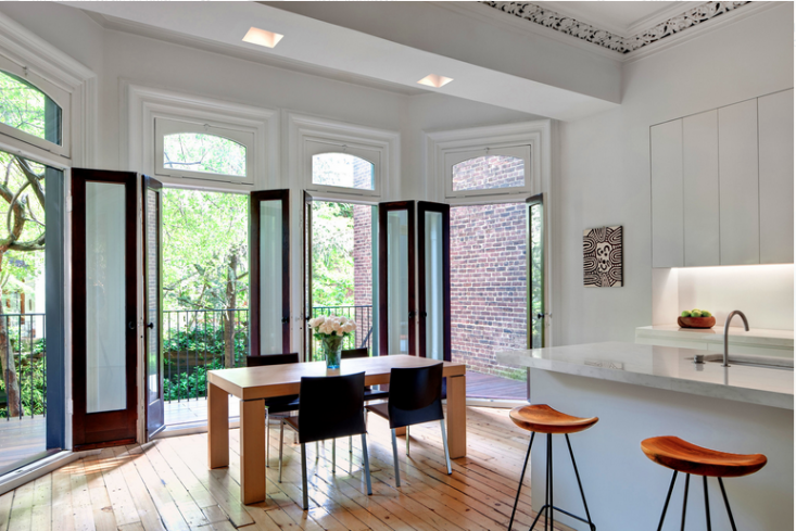 Julian King Architect designed this Chelsea townhouse