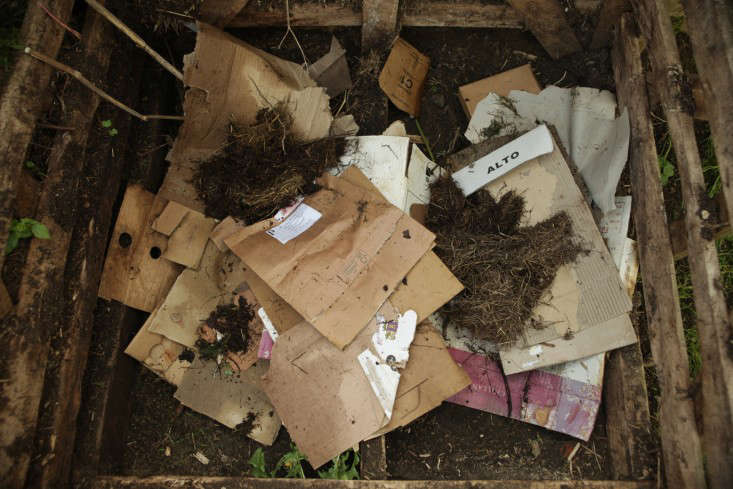 To coax more compost from your bin, &#8