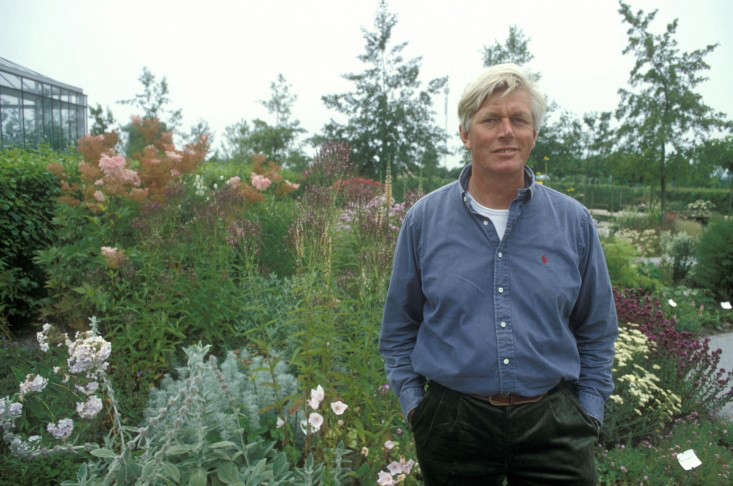 Oudolf at home in his garden. For more, see Hummelo: Landscape Designer Piet Oudolf&#8